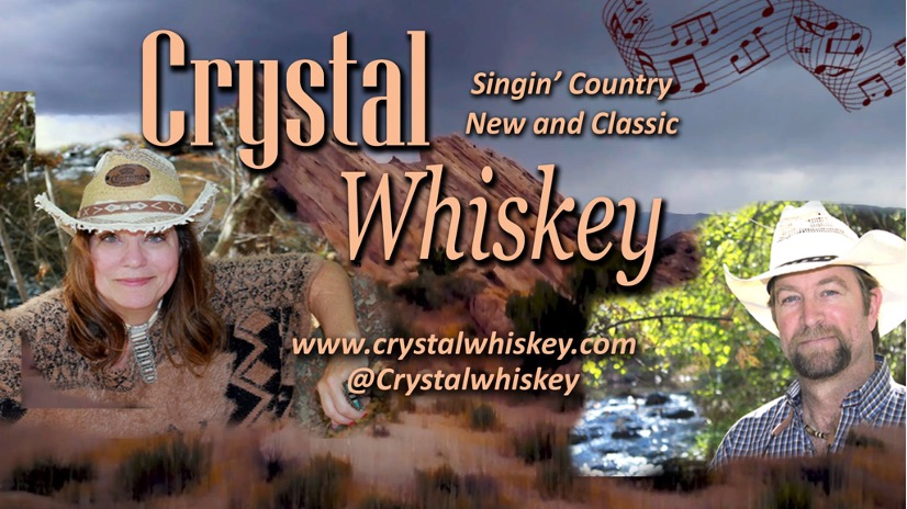 Veronica Crystal Young's Music: Crystal Whiskey - Singin' Country New and Classic