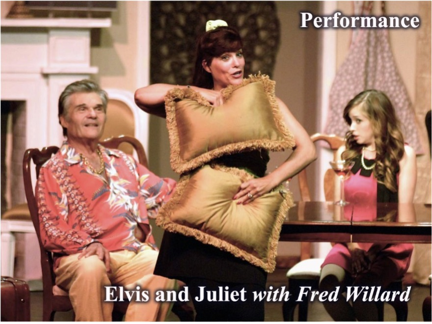 """Veronica Crystal Young in Performance: """"Elvis and Juliet"""" with Fred Willard"""