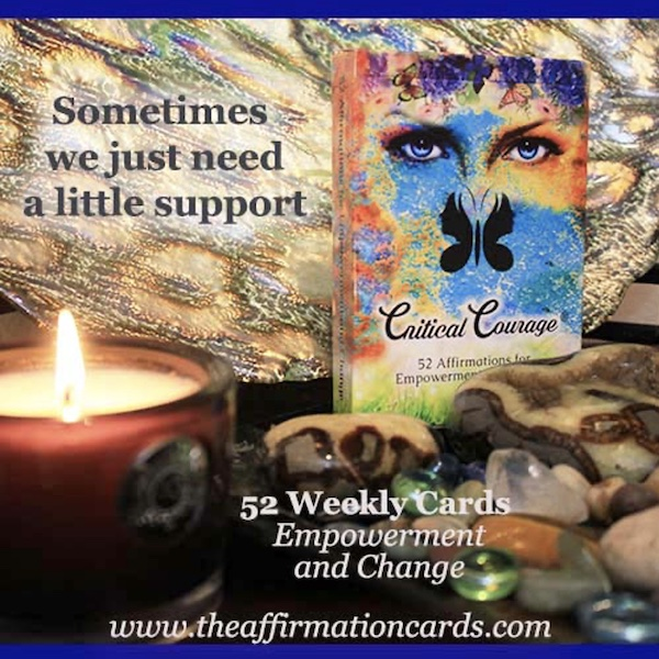 """Affirmation Cards for Sale - """"Sometimes we just need a little support"""""""