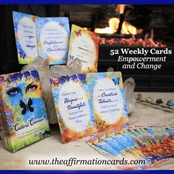 52 Weekly Affirmation Cards for Empowerment and Change
