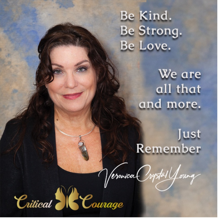 Critical Courage | Veronica Crystal Young