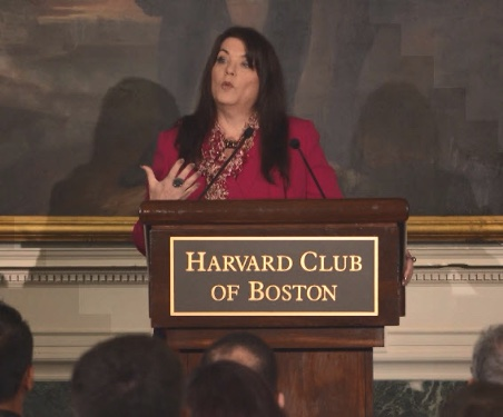 Veronica Crystal Young at the Harvard Club of Boston